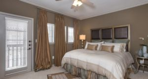 Addison Tx Townhomes Master Bedroom