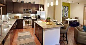 Dallas Cityplace Granite Kitchen