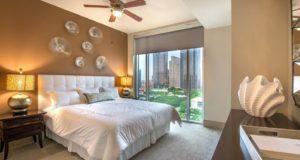 Dallas Luxury Highrise Bedroom