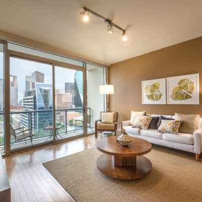 Dallas Luxury Highrise Downtown View