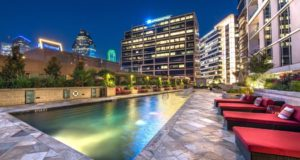 Dallas Luxury Highrise Pool
