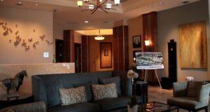 Dallas Penthouse Lobby Coffe Bar