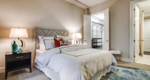 Dallas Uptown Highrise Luxury Bedroom