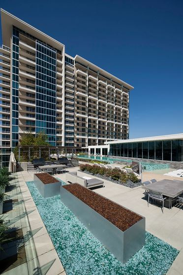 Dallas Design District Highrise Pool