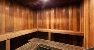 Knox Henderson Apartment Homes Dry Sauna