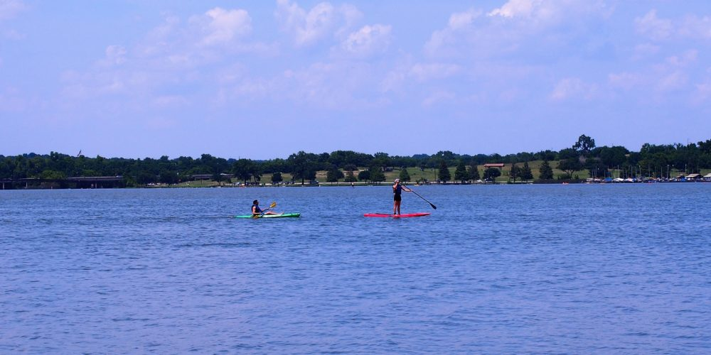 White Rock Lake Dallas Kayaking
