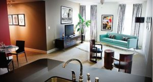 Downtown Dallas Apartment Homes Livingroom & Dining