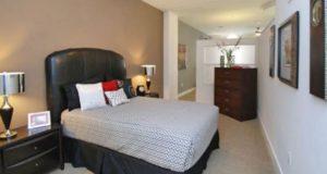 Downtown Dallas Apartment Homes Loft Bedroom