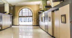 Downtown Dallas Loft Lobby