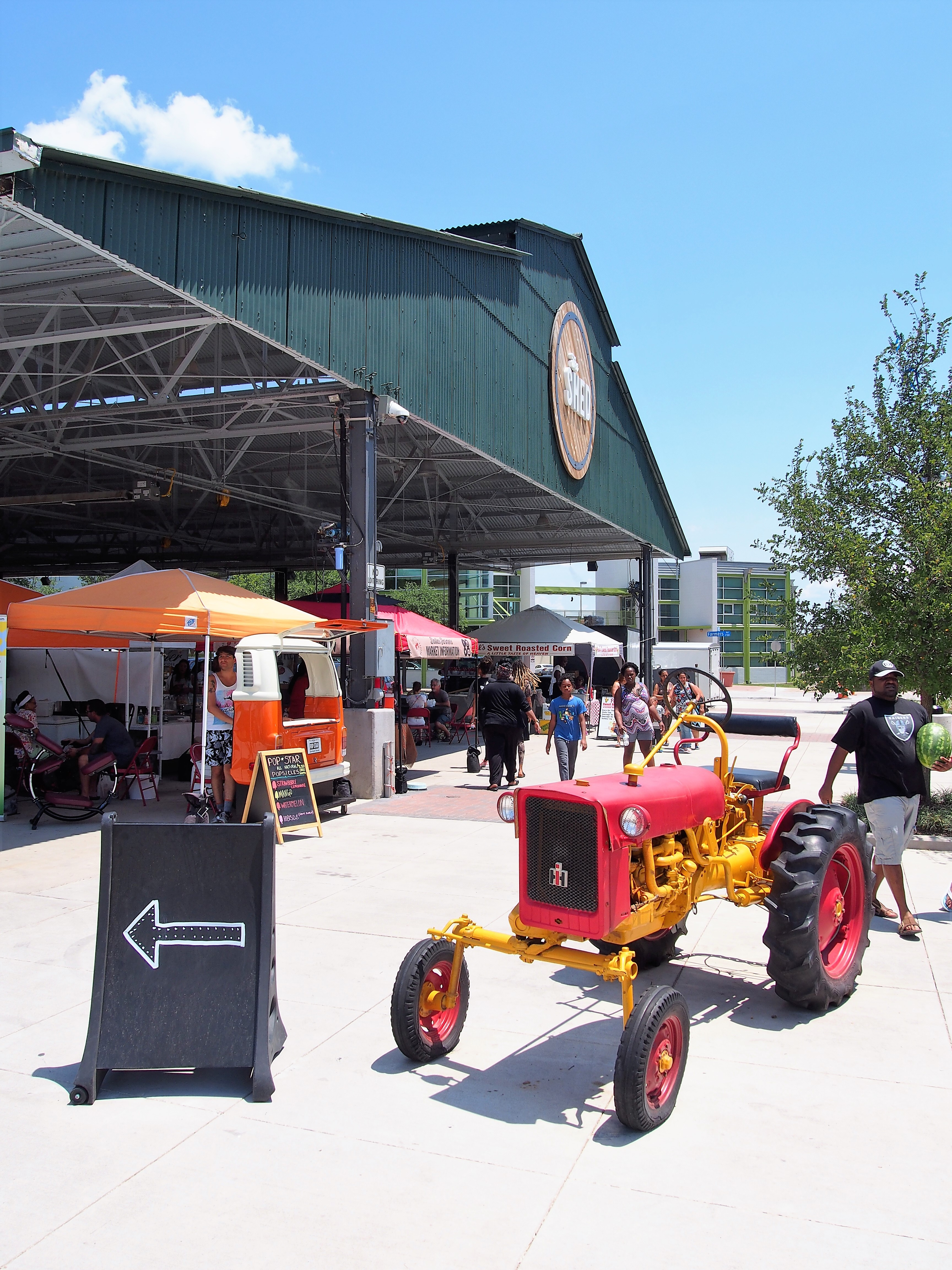 Farmers Market The Shed Tracktor