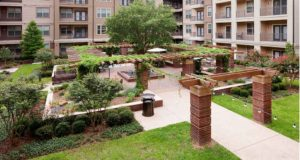 Medical District Apartment Homes Courtyard