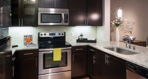 Medical District Apartment Homes Stainless Steel Kitchen