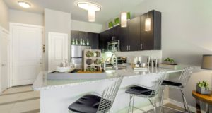 Victory Park Apartment Homes Kitchen bar