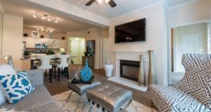 Victory Park Apartment Homes Living and Dining