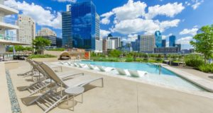 Victory Park Apartment Homes Pool view