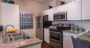 Victory Park Apartment Homes Stainless Steel Kitchen