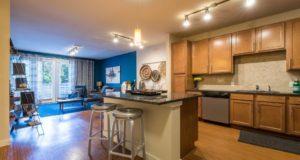 Bishop Arts Apartment Homes Kitchen