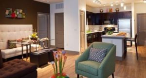 Richardson Apartment Homes Livingroom