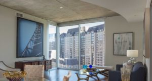 Uptown Dallas Highrise Livingroom Views