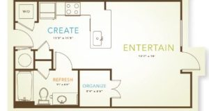 oaklawn studio floorplan